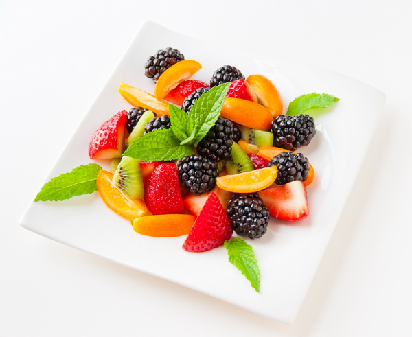 Salad With Fresh Fruits And